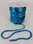 TURQUOISE Sequin roll 100 yards