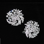 Brooch Napkin Ring Holder Bling (4pcs)