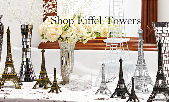 Metal Eiffel Towers