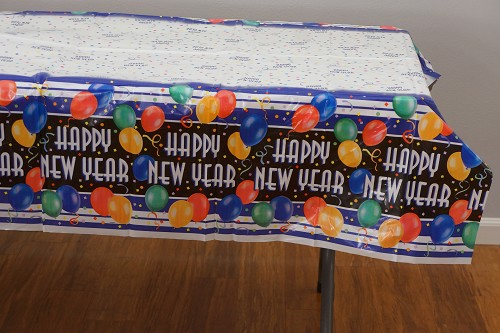 New Years blast table cloth