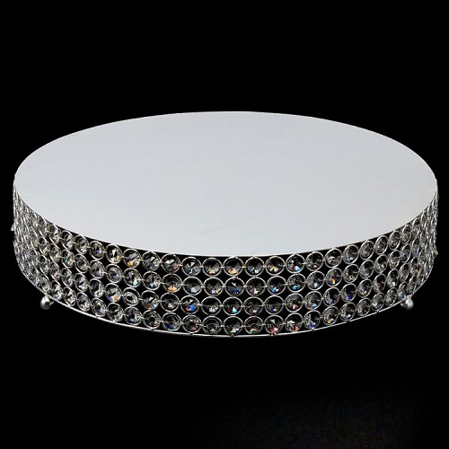 Crystal Round Cake Stand 18 inch  740087