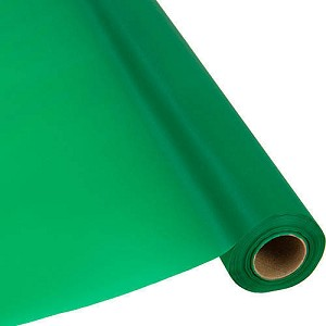 "40""x250' plastic banquet tableroll EMERALD GREEN 783261"