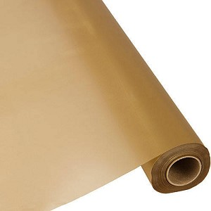 "GOLD 40""x100' plastic tableroll"