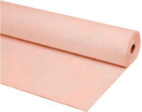 40 X100 Plastic Banquet Tableroll Tablecloth Peach