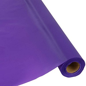 "40""x250' plastic banquet tableroll PURPLE 013268 out of stock til June 4th, please order amethyst"