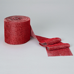 4 inch diamond mesh roll RED