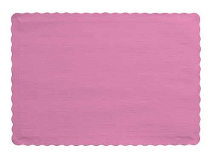 Paper place mat CANDY PINK 863042B