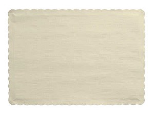 IVORY Paper place mat