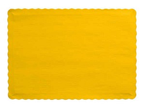Paper place mat SCHOOL BUS YELLO MARIGOLD 863269B