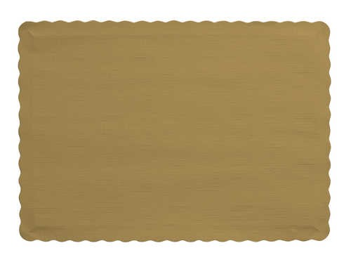 GOLD Paper place mat