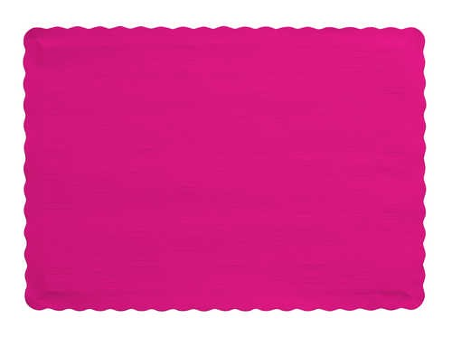 MAGENTA Paper place mat