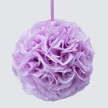 LAVENDER Silk pomander flower ball