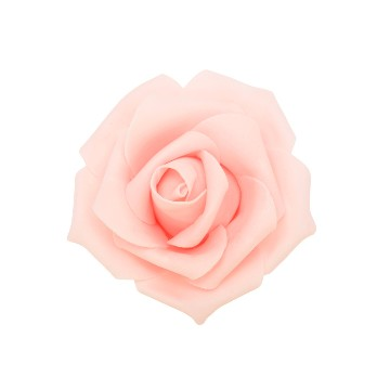 Blush Foam roses (12 count)