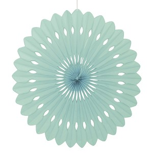 16 inch tissue paper fan MINT UI63197