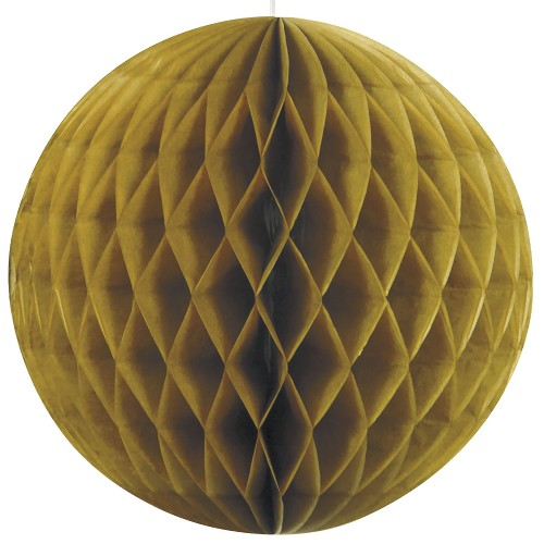 8 inch honeycomb ball GOLD