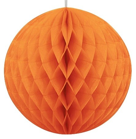 8 inch honeycomb ball ORANGE