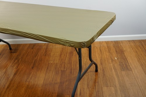 METALLIC GOLD 8 foot Kwik Cover