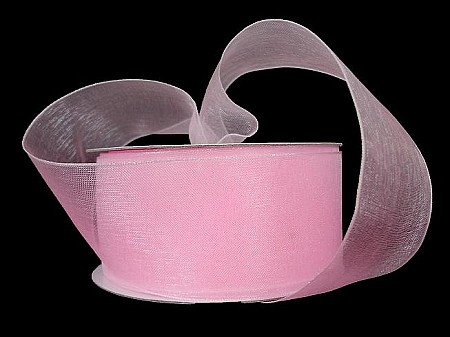 Wired organza PINK