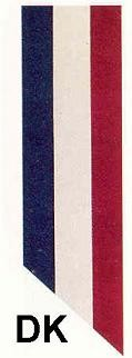 DK Red-White-Blue ribbon