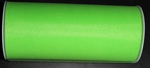 "Nylon tulle 6"" x 25 yards LIME GREEN"