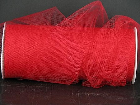 Nylon tulle RED