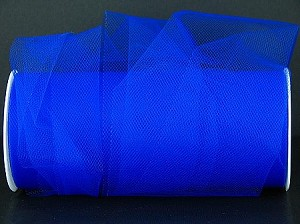 "Nylon tulle 6"" x 100 yards ROYAL BLUE"