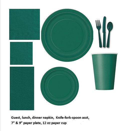 HUNTER GREEN tableware