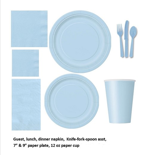 LIGHT BLUE tableware