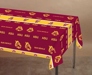 "724089 Arizona State 54""x108"" table cover 1 piece"