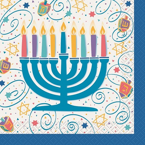 29552 Hanukkah lunch napkin 20 pcs