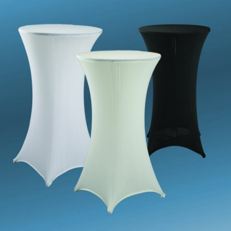 24inch round Spandex fitted tablecloths