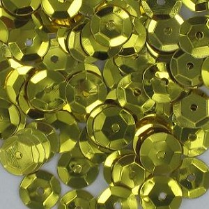 Sequins - GOLD 8mm 2400 pieces
