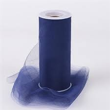 "Nylon tulle NAVY 54""x 40yds"
