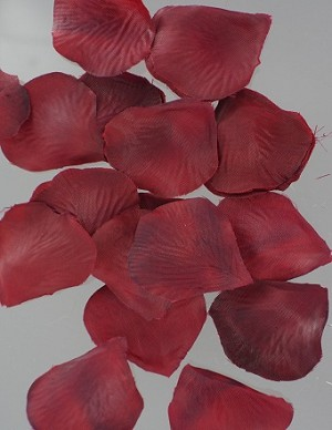 Rose Petals BURGUNDY 400 pieces